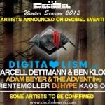 DECIBEL Eventi - electronic winter-spring season / Gennaio - Aprile 2012